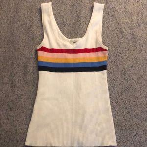 White rainbow tank